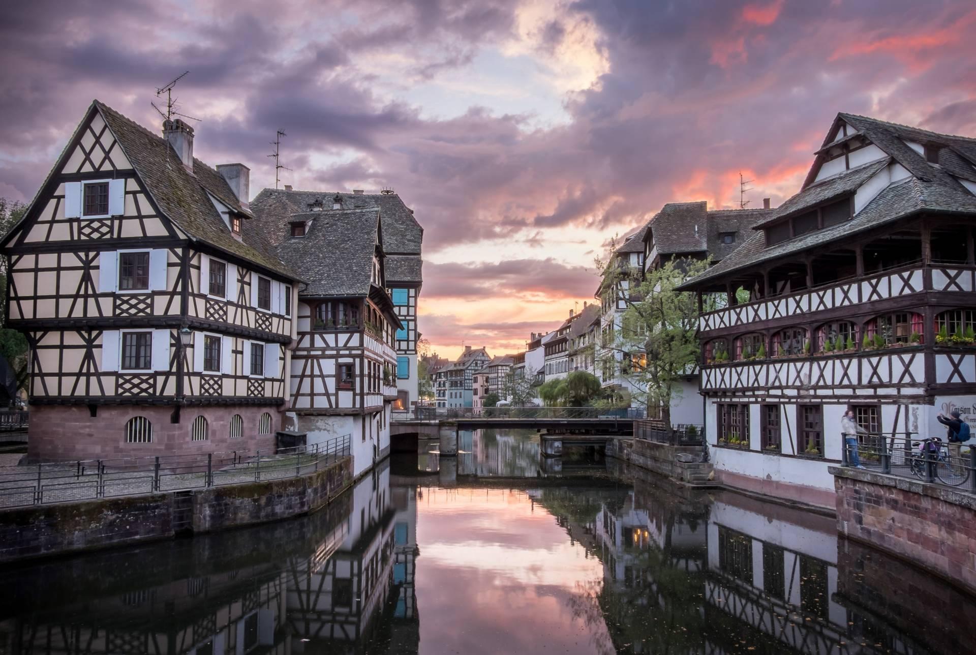 Quartier La Petite France à Strasbourg